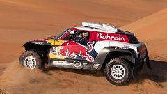 Carlos Sainz, a 374 kilómetros de ganar su tercer Dakar