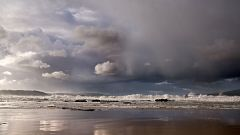 Precipitaciones fuertes y persistentes en el oeste de Galicia