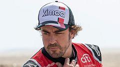 """Fernando Alonso: """"Nos hemos metido en el Top-10 en una etapa difícil"""""""