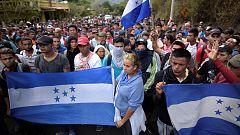 Una nueva caravana de migrantes sale desde Honduras con destino a Estados Unidos