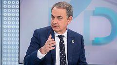 """Zapatero asegura que """"siempre apostó"""" por el acuerdo con Podemos y augura una legislatura larga"""