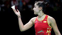 Carolina Marín, en semifinales de Indonesia