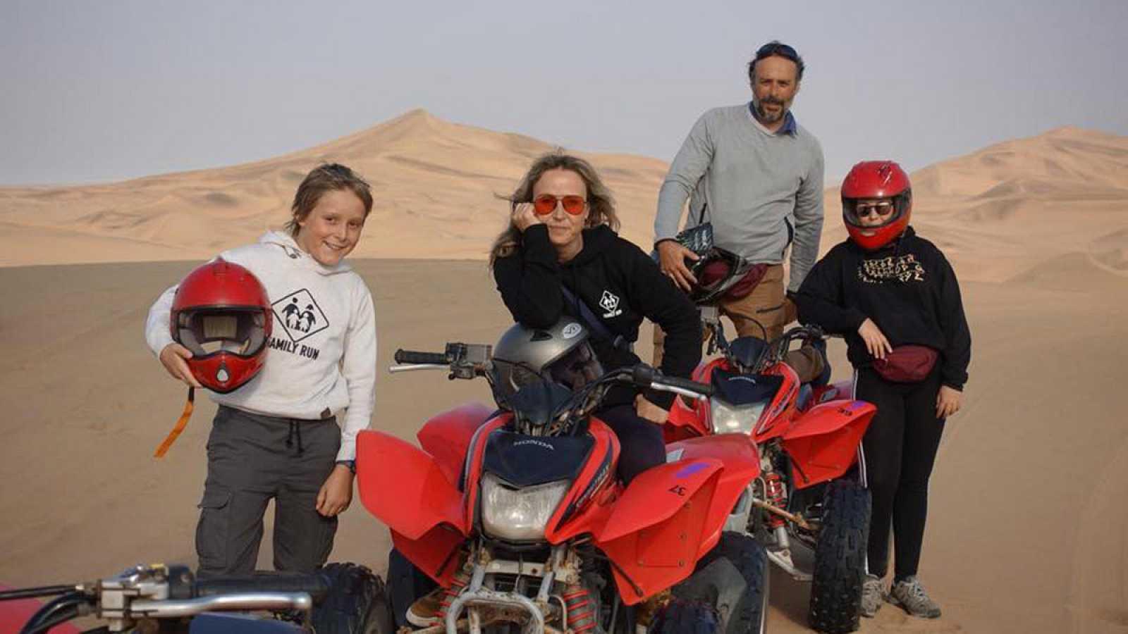 Mi familia en la mochila - Vídeo presentación de 'África para aventureros'