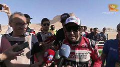 """Alonso, tras acabar en su debut en el Dakar: """"No puedo estar más contento"""""""