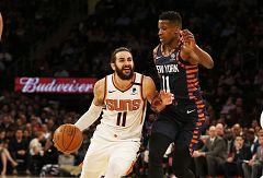 El 'papá' Ricky Rubio roza el triple-doble ante los Knicks