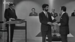 En equipo, con José Luis Uribarri y Alfredo Amestoy (1970)