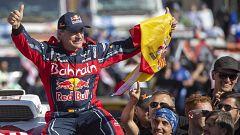 """Juanjo Lacalle y Luis Moya, """"orgullosos"""" de la victoria de Sainz en el Dakar"""