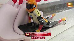Skeleton femenino - Copa del mundo 2ª manga Innsbruk (Austria)