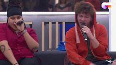"""OT 2020 - Jesús y Eli cantan """"Atrévete-te-te"""" en el segundo pase de micros de Operación Triunfo 2020"""