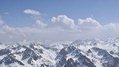 Nevadas en puntos del Pirineo