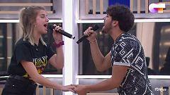 """OT 2020 - Javy y Samantha interpretan """"Te espero aquí"""" en el segundo pase de micros de Operación Triunfo 2020"""