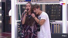 """OT 2020 - Eva y Nick cantan """"Little Talks"""" en el segundo pase de micros de Operación Triunfo 2020"""