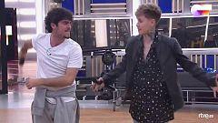 """OT 2020 - Hugo y Rafa interpretan """"Tu calorro"""" en el segundo pase de micros de Operación Triunfo 2020"""