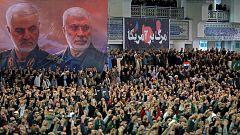 El líder supremo de Irán, Alí Jameneí, hace un llamamiento a la unidad nacional