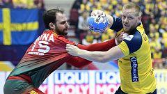Balonmano - Campeonato de Europa Masculino: Portugal - Suecia