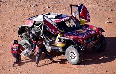 Carlos Sainz y Lucas Cruz, un equipo ganador en el Dakar