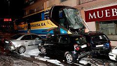Muere el hermano de la niña fallecida por el autobús siniestrado en Estella, Navarra