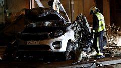 Mueren dos hermanos de ocho y cinco años en el accidente causado por un autobús en Estella