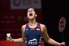 Carolina Marín, a volver a ganar en Indonesia un año después de su lesión