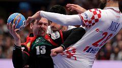 Balonmano - Campeonato de Europa Masculino: Croacia - Alemania