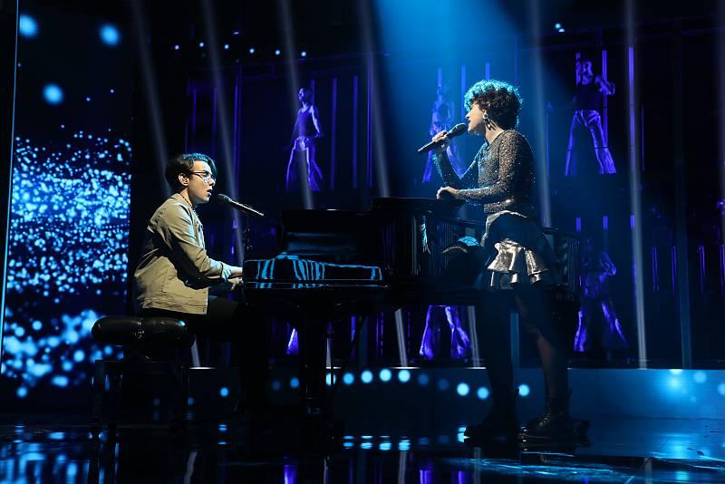 Flavio y Anne han interpretado Another love, de Tom Odell, en la Gala 1 de Operación Triunfo 2020