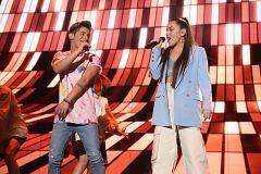 """OT 2020 - Eva y Nick cantan """"Little Talks"""" en la Gala 1 de Operación Triunfo 2020"""