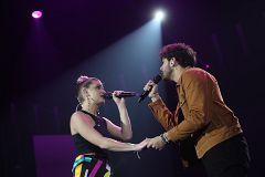 """OT 2020 - Javy y Samantha interpretan """"Te espero aquí"""" en la Gala 1 de Operación Triunfo 2020"""