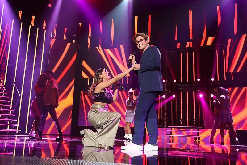 Gèrard y Anajú han sido los primeros en actuar con Up, de Demi Lovato y Olly Murs, en la Gala 1 de Operación Triunfo 2020