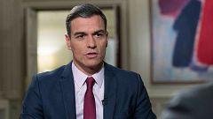 Primera entrevista de Pedro Sánchez tras la investidura, hoy en RTVE