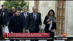 Parlamento - Otros parlamentos - El Parlament mantendrá el escaño de Torra - 18/01/2020