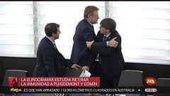 Parlamento - Otros parlamentos - La Eurocámara estudia retirar la inmunidad de Puigdemont y Comín - 18/01/2020