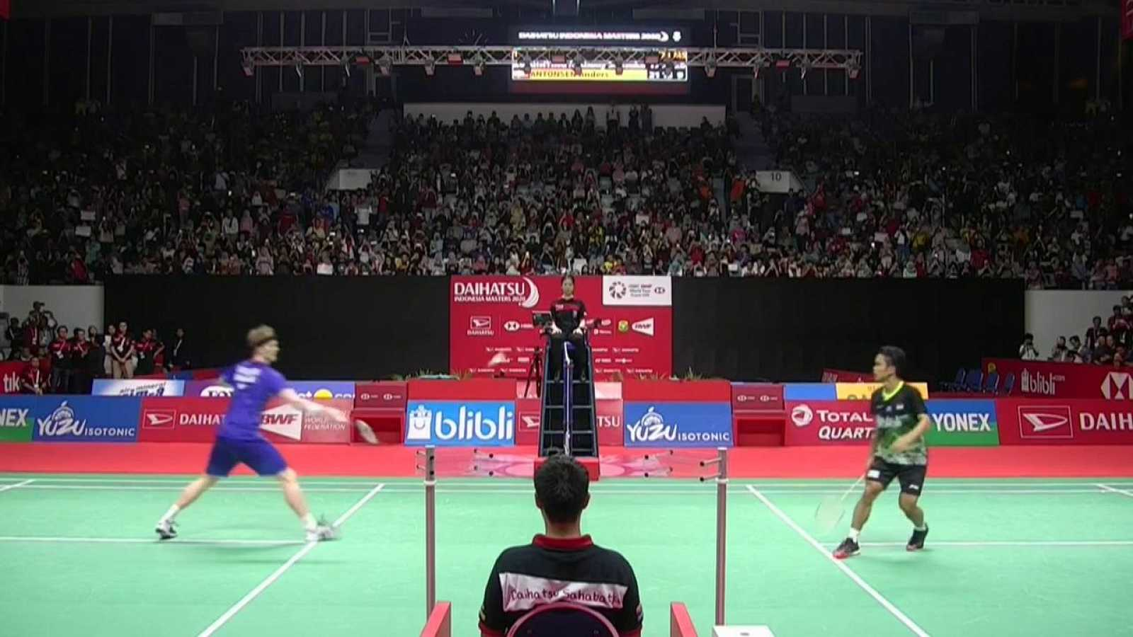 Bádminton - Indonesia Masters Final Individual masculina: A.S. Ginting - A. Antonsen - ver ahora