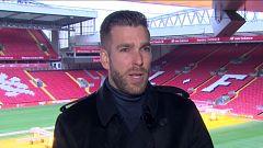 Adrián, el portero del Liverpool, nos abre las puertas de Anfield