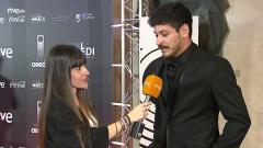Alfombra roja de los Premios Odeón - Entrevista a Cepeda