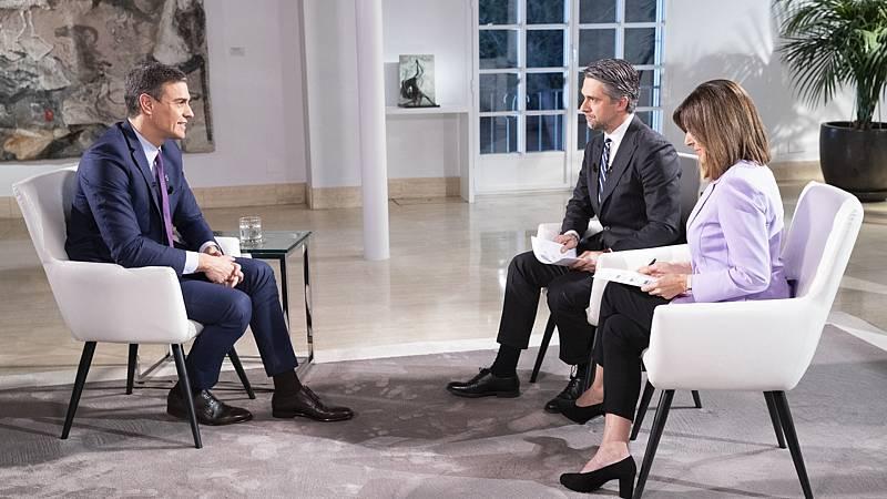 Especial informativo - Entrevista al presidente del Gobierno Pedro Sánchez - ver ahora