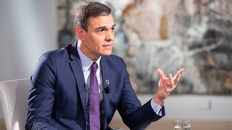 """Pedro Sánchez: """"El pin parental es un problema inventado por la ultraderecha"""""""