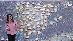Precipitaciones en casi toda España, con nieve en el interior peninsular