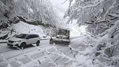 Gloria, la primera borrasca del año, cubre la Comunidad Valenciana de nieve