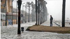 La borrasca 'Gloria' provoca grandes destrozos en las playas de Baleares y la Comunidad Valenciana
