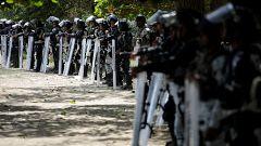 La caravana de migrantes regresa a Guatemala por el bloqueo policial de México
