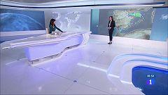 Precipitaciones fuertes en la mitad oriental peninsular y el sur de Andalucía