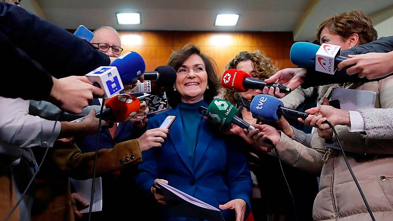 Calvo asegura que Sánchez no hablará de la reforma del Código Penal con ninguno de los presidentes de las comunidades autónomas