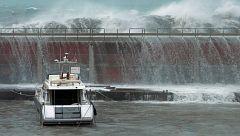 El temporal Gloria deja récords de olas gigantes, lluvia, nieve y rayos