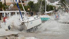 Ascienden a ocho los muertos por el temporal Gloria, que azota con virulencia el Mediterráneo