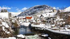 Viento fuerte en el litoral de Galicia y en Girona, nevadas en el Pirineo oriental