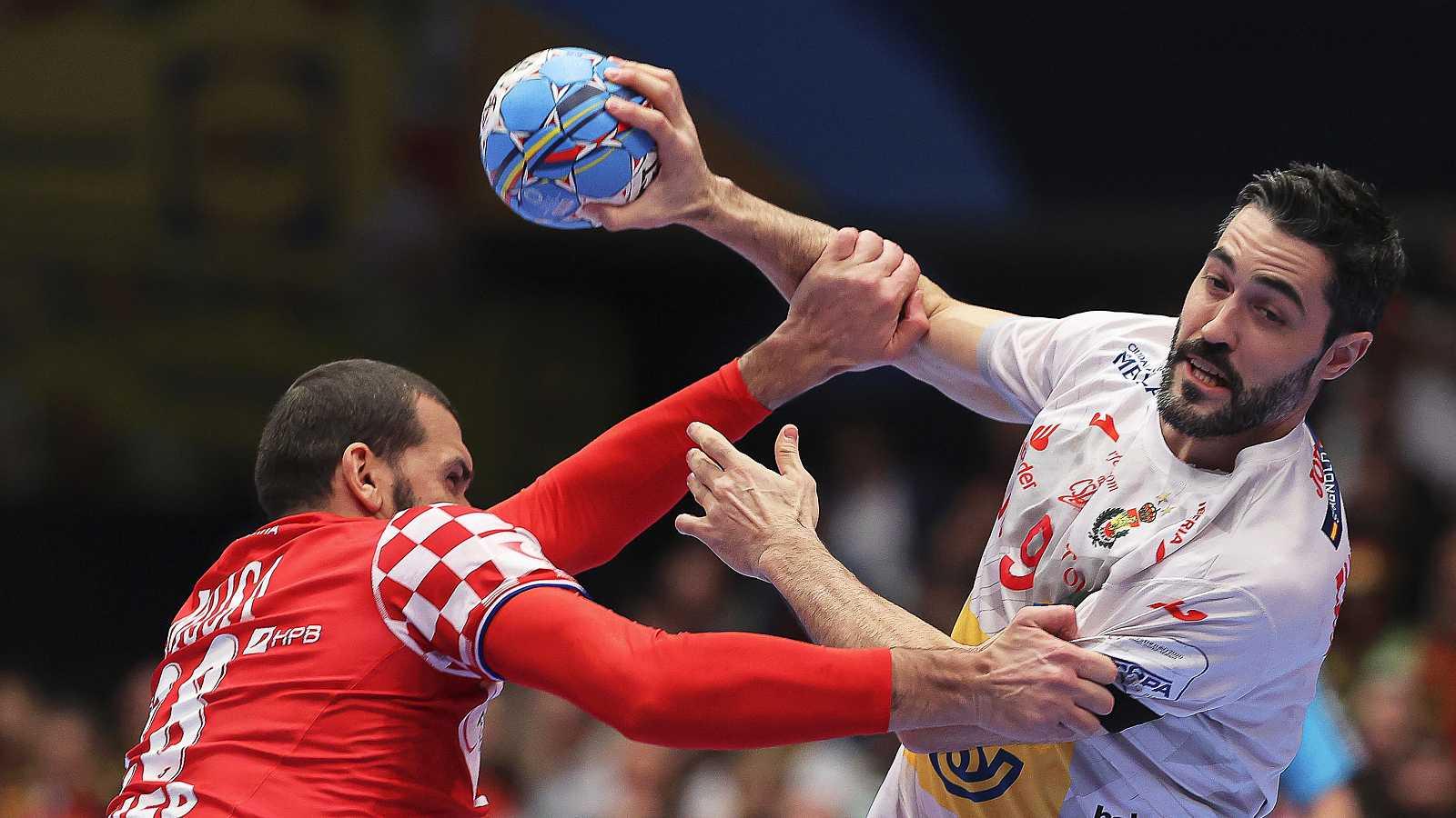 Resumen del España 22 - 22 Croacia