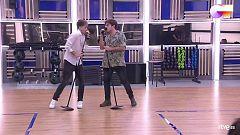 """OT 2020 - Hugo y Gèrard interpretan """"Sucker"""" en el primer pase de micros de la Gala 2 de """"Operación Triunfo 2020"""""""