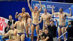 España se mete en las semifinales del Europeo de waterpolo