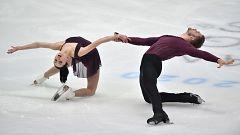 Patinaje artístico - Campeonato de Europa. Programa corto parejas