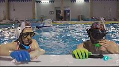Insòlits - L'hoquei subaquàtic amb aletes i stick